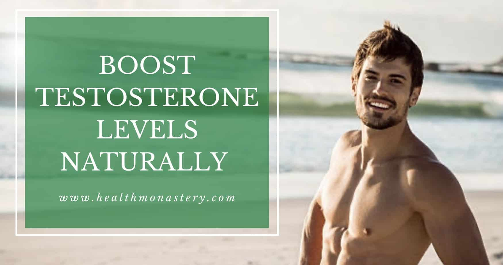 Tips to increase testosterone levels