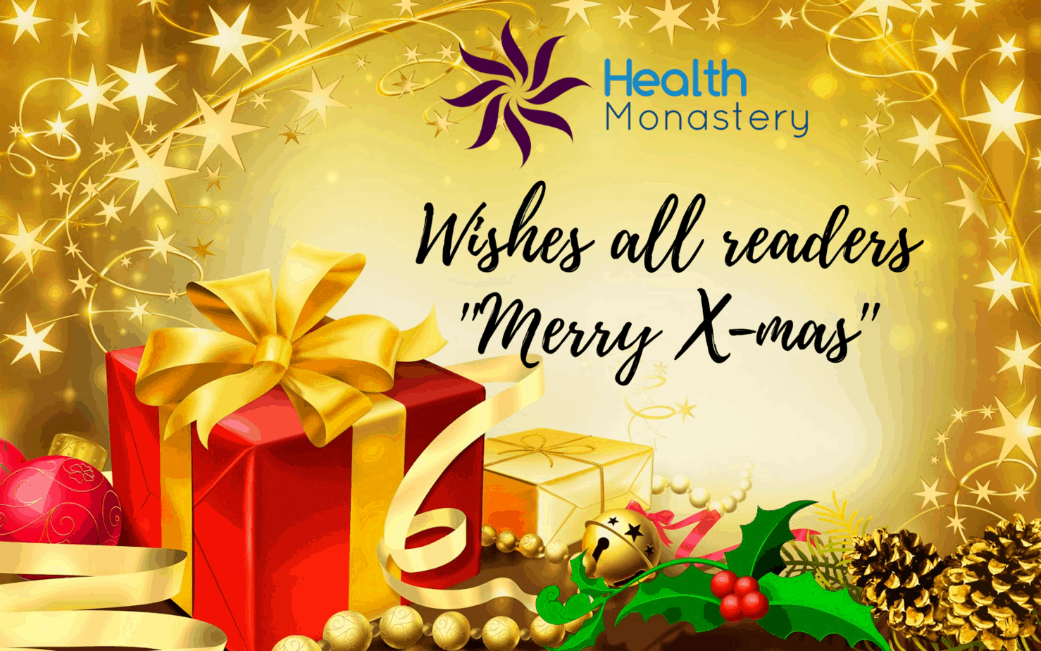 merry Christmas from healthmonastery